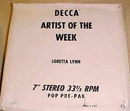 Loretta Sings 45 artist of the week box set